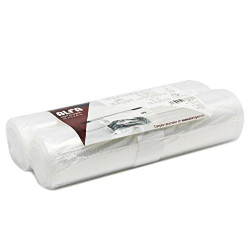 Alfa 0MP2514900 - Pack de 2 rollos para envasado vacio, 22 cm x 6 m