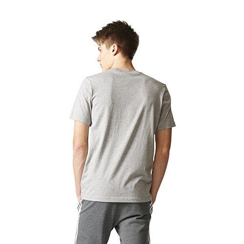 Adidas Originals Herren Originals Trefoil Tee Grau