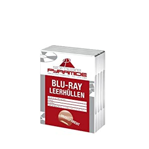 PS3 – Leerhülle transparent (4er Pack)