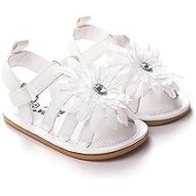 LIVEBOX infantil bebé niñas Mocasín girasol antideslizante suela de goma verano sandalias infantil Prewalker