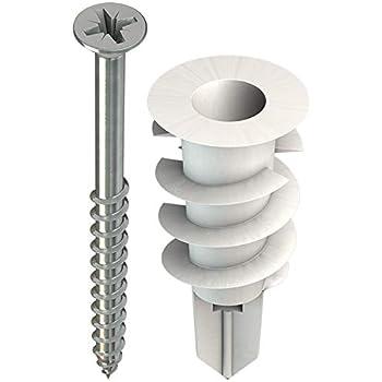 Index Fixing Systems tapla NY/ /Pack de 100/chevilles pour plaques de pl/âtre lamin/é Nylon, 12/X 33/mm