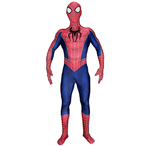 nihiug Halloween Kinder Klassische Remitobi Spiderman Cosplay Einteilige -