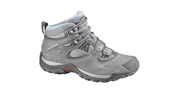 Salomon Elios Mid GTX 3 W Pewter Aluminium 37: Amazon.co.uk