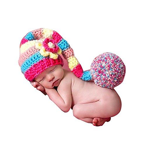KINDOYO Baby Kinder Kostüm Nette Schlafsack Schlaf Sack Häkeln Knit Bean Beanie Fotografie Kostüm Requisiten Outfits Schlafsack Outfit für Baby