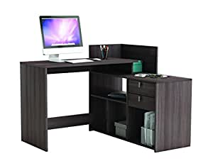 demeyere vista 2 tiroirs bureau d 39 angle bois ch ne vulcano cuisine maison. Black Bedroom Furniture Sets. Home Design Ideas