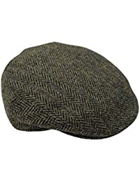 ec2b84648c1 Harris Tweed Mens 100% Flat Cap 4 Colours Available