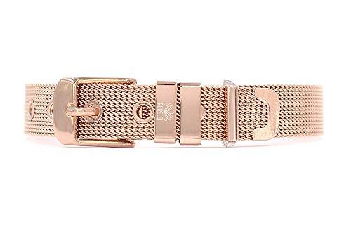 PURELEI  Charmband Damen Armband (Edelstahl) Individuell gestalten mit Charms (Größenverstellbar &...
