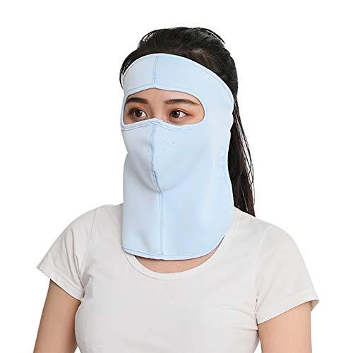 Qianren Frauen atmungsaktive Regenschirm Sonnenschutz Nackenschutz Maske Gesicht Sommer Fahrradwandern