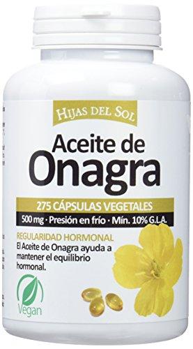 Hijas Del Sol  - Aceite de Onagra,  275 Cápsulas Blandas