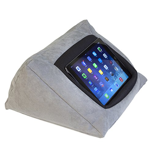 ipad-cushion-pillow-stand-holder-grey-for-ipad-and-other-tablet-devices-use-around-the-home-in-bed-o