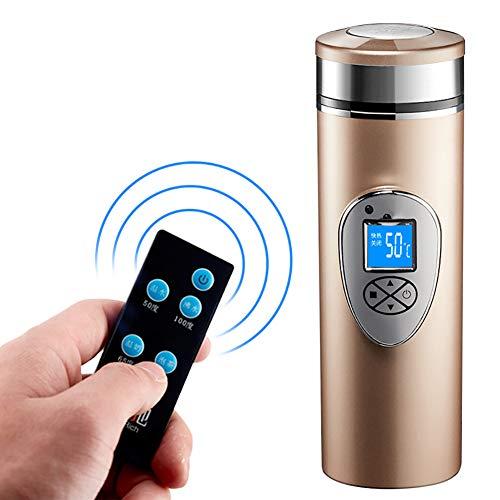 Auto-Heißwasser-Schalen-Heizungs-elektrische Schalen-Auto-Warmwasserbereiter 100 Grad 12v24v, Energie-Zigarettenanzünder-Ladegerät-Unterseite,Gold,Car