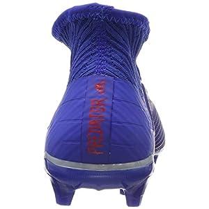 Adidas Predator 19.2 FG, Botas de fútbol para Hombre, Azul, Blanco, 43 1/3 EU