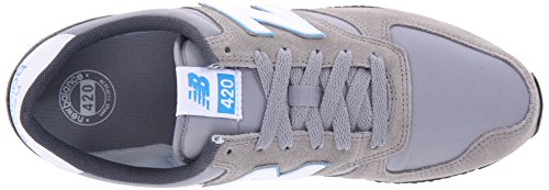 New Balance U420 D, Baskets mode mixte adulte Grey