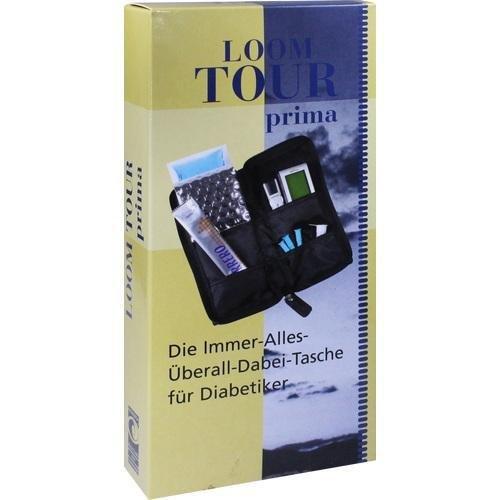 Loom Tour Prima Schwarz Nylon, 1 St (Nylon Loom)