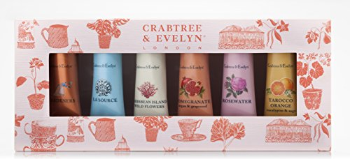 Crabtree & Evelyn Bestsellers Hand Therapy Sampler, 25 g, Pack of 6