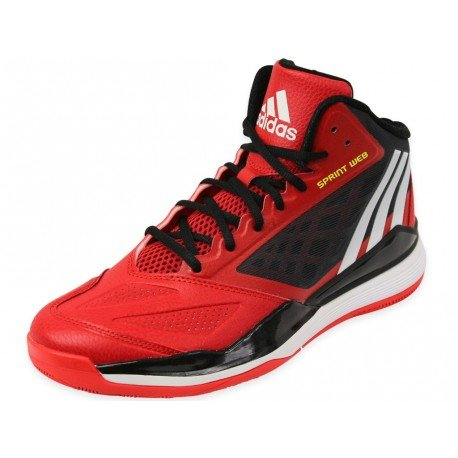 Adidas Basketball Trainings Crazy Ghost 2 Scarle/ftwwht/cblack, Größe Adidas:19