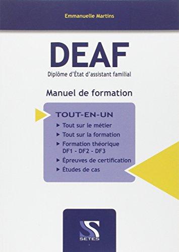 Deaf manuel de formation