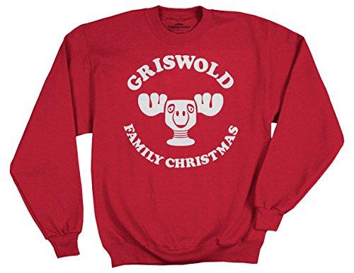 tshirt für Erwachsene, Motiv National Lampoon's Christmas Vacation Elch Cup - Rot - XX-Large ()