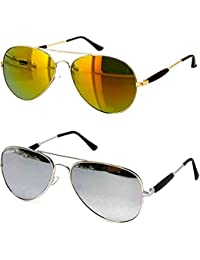 73b147bca44 Younky Discount Offer On Combo of Stylish Aviator Mercury Sunglasses for Men  Women Boys   Girls