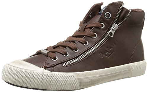 Pepe Jeans London Brother Zip, Baskets Mode Homme