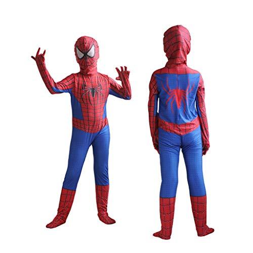 YUNMO Kinder Spider-Man Kostüm Kostüm Rot (größe : ()