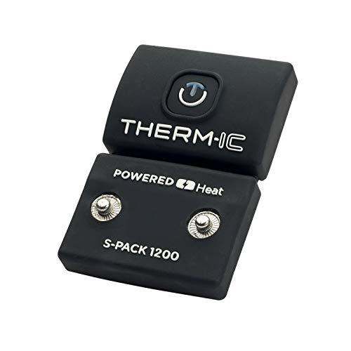 therm-ic Warme F/ü/ße Smartpack rc 1200 EU und US Akku schwarz one size