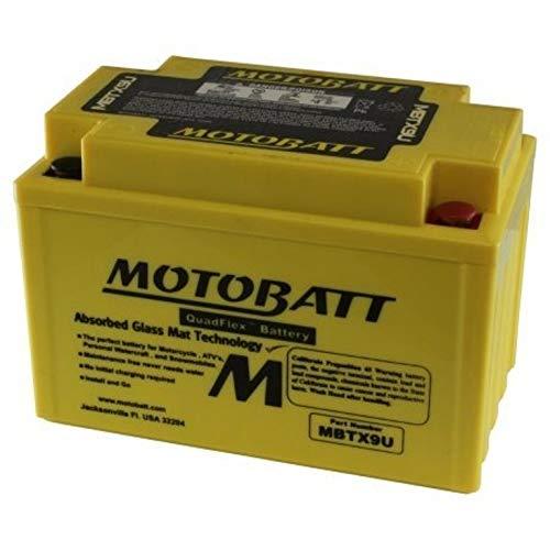 MotoBatt Batteria MBTX9U (Batterie Preattivate) /