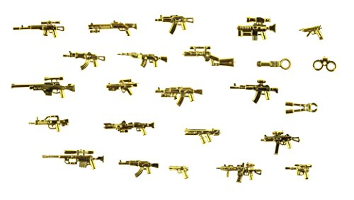 magma-brick-24-piece-of-golden-weapon-for-customize-lego-minifigure