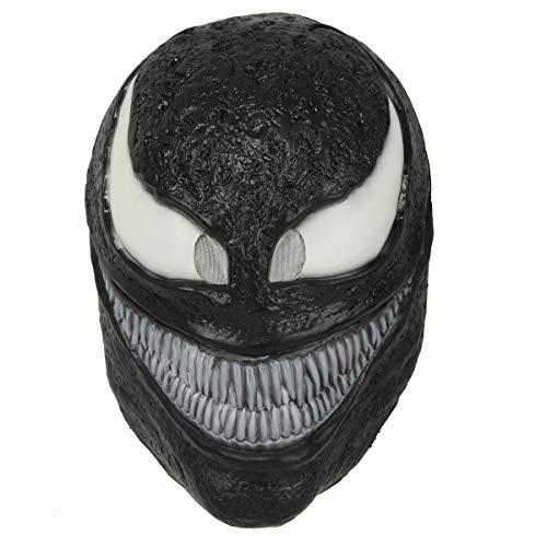 Wellgift Halloween Maske Cosplay Kostüm Film Erwachsene Unisex Scary Helm Latex Vollkopf Masken Fancy Dress Costume Ware Zubehör (Scary Kostüm Aus Filmen)