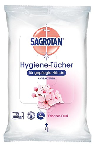 Sagrotan-Salviette igieniche, 15x 12pezzi