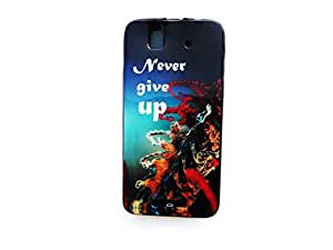 Lava x1 printed bliss brand back cover