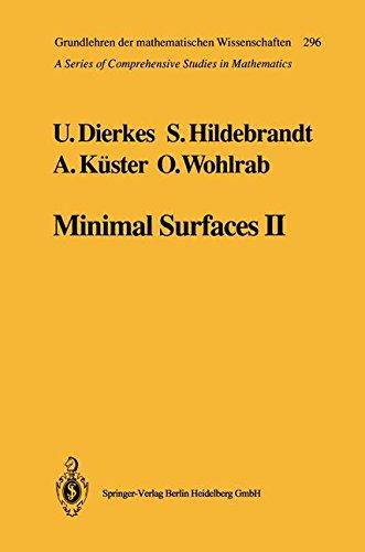 Minimal Surfaces II: Boundary Regularity (Grundlehren der mathematischen Wissenschaften)