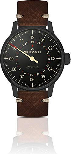 MeisterSinger Perigraph Black Line AM1002BL Single Hand Automatic Watch
