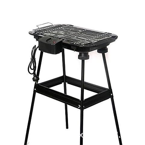 ZWZT Barbecue électrique Grill ménager sans fumée Barbecue multi-fonctionnel Panneau électromécanique à haute pression Four électrique électrique coréen