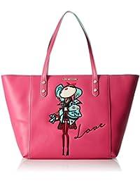 Love Moschino - Moschino, Bolsos totes Mujer, Pink (Fuchsia), 14x30x48 cm (B x H T)