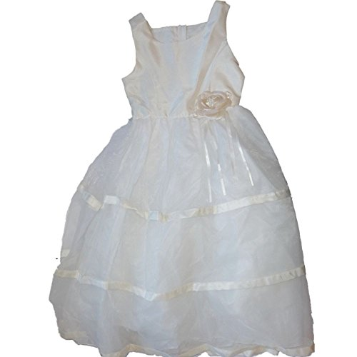 Rare Too festliches Kinder Mädchen Princess Kleid zur Kommunion Hochzeit oder Firmung Cremeweiß Rose - Ralph Lauren-cover-set