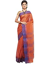 Slice Of Bengal Light Weight Broad Border Cotton Handloom Taant Tangail Saree-101001001068
