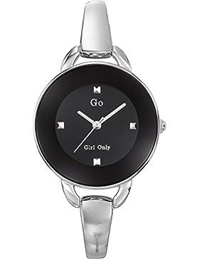 Go Girl Only Damen-Armbanduhr Analog Quarz Silber 694558