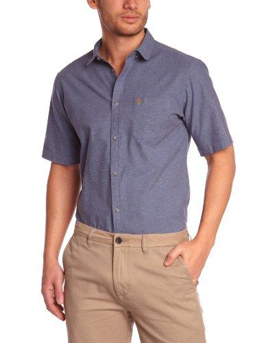 Farah Herren Business Hemd Blau - Bleu (Navy)