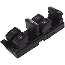 SODIAL(R)Ventana Panel Maestro Interruptor conjunto de control para Volkswagen 99-04 Golf Jetta Bora 98-04 Passat B5 B5.5