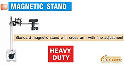 OCEAN HIGH POWER MAGNETIC DIAL GAUGE STAND WITH FINE ADJUSTMENT