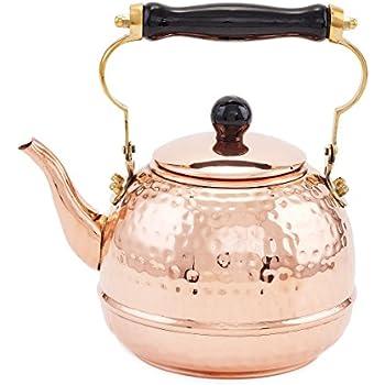 Traditionelle Teekanne Aus Kupfer Teekessel 1 5l
