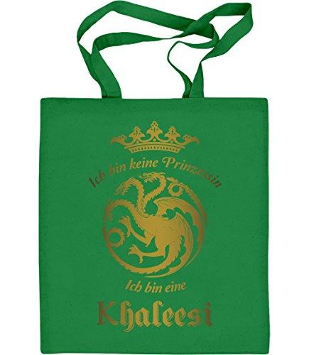 ich-bin-keine-prinzessin-ich-bin-eine-khaleesi-jutebeutel-baumwolltasche-one-size-grun