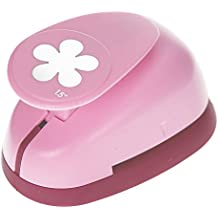 Cortante en forma de flor retro, color rosa, de 35mm, de Efco