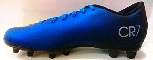 Nike Mercurial Vortex II CR FG, Chaussures de Football Compétition Homme Bleu - Azul (Azul (Dp Ryl Bl/Mtllc Slvr-Rcr Bl-Bl))
