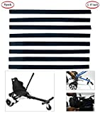 Zexodis Hoverboard Kart Straps-3 Pares, Protector para Hover Kart Reemplazo De Gancho Y Lazo