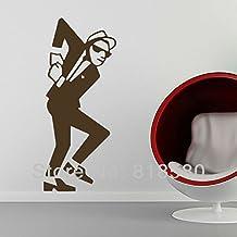 Decoración del hogar GRAN SKA 2 TONE DORMITORIO Arte de pared Vinilo Adhesivos Pegatinas pared(50 x 120cm/pieza)