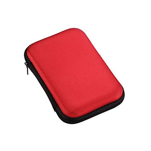 Mobile Festplatten-Speicher-Tasche 2,5 Zoll Seagate Mobile Hard Disk Box Stoß- Schutzpaket-Datenkabel-Aufbewahrungsbehälter -