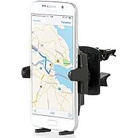 Wicked Chili KFZ Lüfter Halterung mit Kugelgelenk für Samsung Handy / Smartphone (kompatibel mit Bumper/ Hüllen, Made in Germany) schwarz