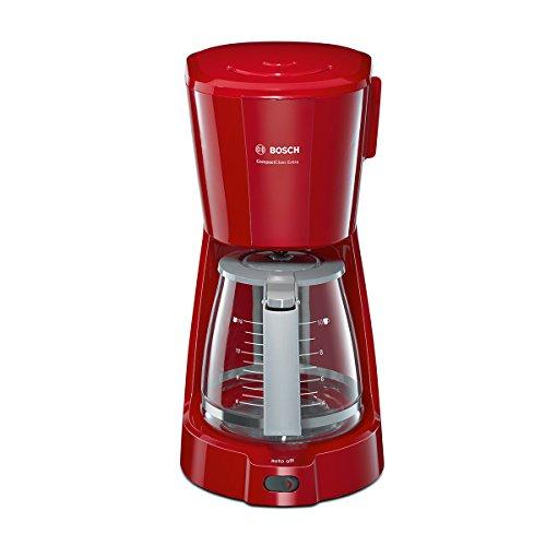 Bosch TKA3A034 Kaffee-Automat Compact Class, Frühstückset, rot